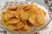 وصفة لتحضير رقائق البطاطس المقرمشة