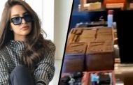 بالفيديو: فنانة تستفز جمهورها بفيديو لغرفة سجائر زوجها