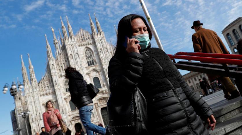 رقم مخيف.. إيطاليا تسجل 475 وفاة بكورونا في يوم واحد