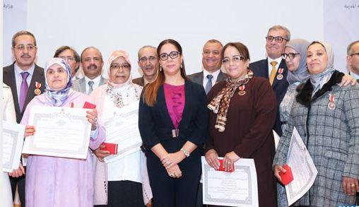 تسليم أوسمة ملكية لموظفين وتكريم متقاعدين بوزارة إعداد التراب الوطني