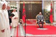 الملك يستقبل الأعضاء الأربعة الجدد المعينين بالمحكمة الدستورية