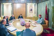 الملك يترأس جلسة عمل لتتبع تدبير انتشار وباء كورونا بالمغرب