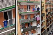 فيروس كورونا: دعوة المغاربة للوقوف في نوافذ وشرفات المنازل