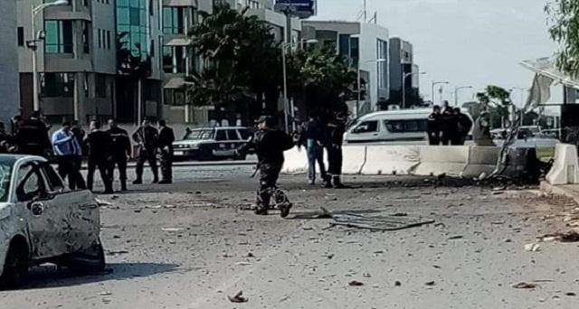 تونس.. تفجير انتحاري أمام السفارة الأمريكية