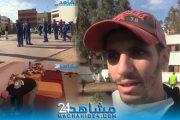 بالفيديو.. إيواء المتشردين بمدرسة بمنطقة الفداء لحمايتهم من كورونا