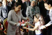 مؤسسة للا أسماء للأطفال والشباب الصم تساهم بـ200 ألف درهم في