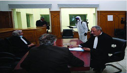 كورونا.. وزارة العدل تتخذ إجراءات حمائية للقضاة والمرتفقين والمتقاضين