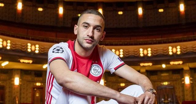 قبل رحليه.. حكيم زياش يتوج بجائزة أفضل لاعب في أياكس