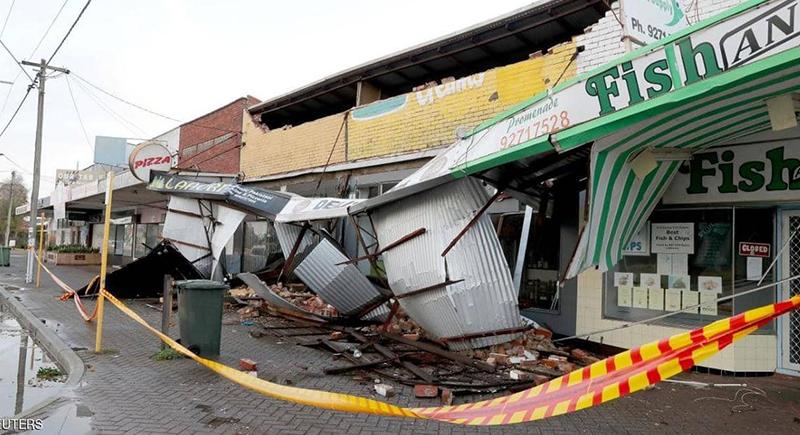 انقطاع الكهرباء عن آلاف المنازل جراء عاصفة لم تشهدها استراليا منذ 15 عاما