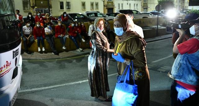 تواصل إجلاء المغاربة العالقين بسبتة المحتلة بسبب كورونا