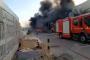 طنجة.. اندلاع حريق مهول بمصنع في المنطقة الصناعية (فيديو)