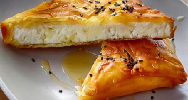 فطيرة الجبن والعسل