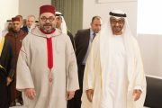 الملك محمد السادس يجري اتصالا هاتفيا مع الشيخ محمد بن زايد