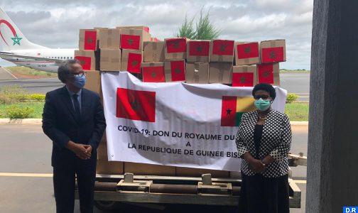 كورونا.. غينيا بيساو تتلقى مساعدات طبية مغربية