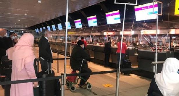 المغاربة العالقون.. وصول حوالي 600 شخص من دول مختلفة إلى أكادير