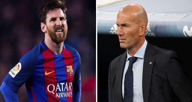 زيدان يعلق على رحيل ميسي عن برشلونة