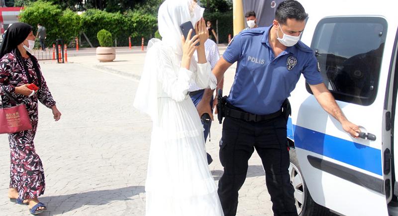 سبب غريب يدفع عروس للاستنجاد بالشرطة يوم زفافها (فيديو)
