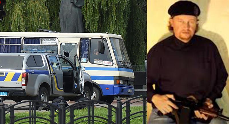 أوكرانيا: مسلح يختطف حافلة ورهائن في مدينة لوتسك