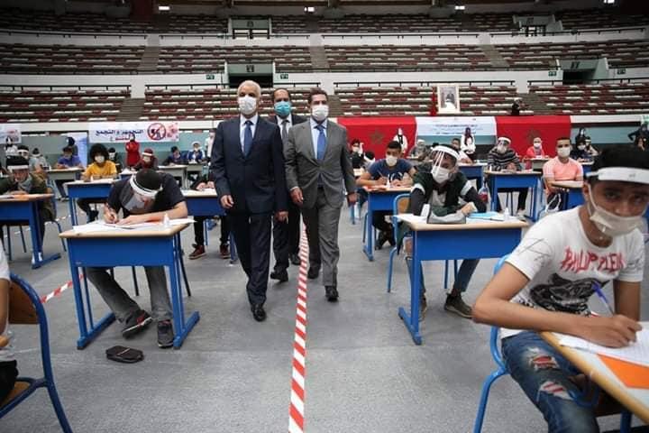 وزارة أمزازي:المرحلة الأولى من امتحانات الباكلوريا مرت في ظروف حسنة