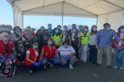 إطلاق برنامج إعادة 7100 من العاملات المغربيات الموسميات من هويلبا