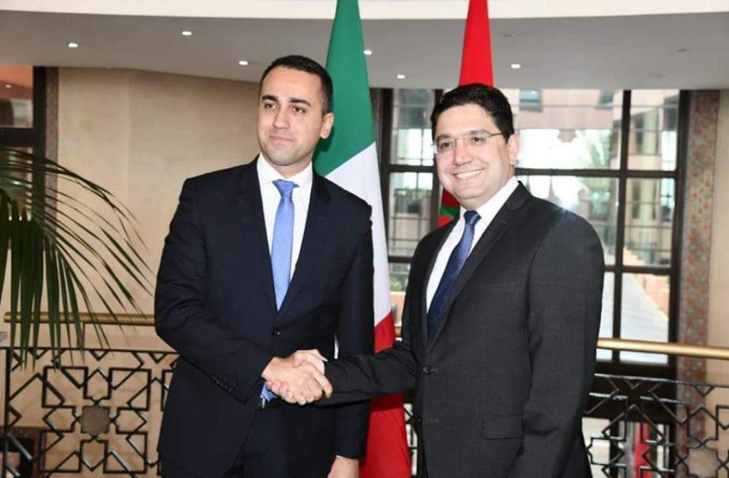 وزير الخارجية الإيطالي يعرب عن تقدير روما لدور المغرب في حل الأزمة الليبية