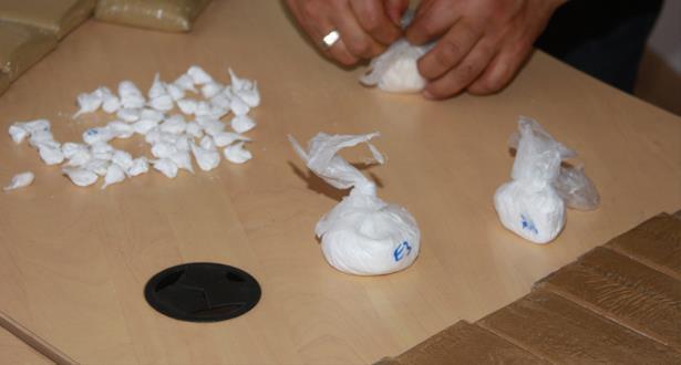 إجهاض محاولة لتهريب أزيد من 15 كلغ من مخدر الكوكايين نحو المغرب