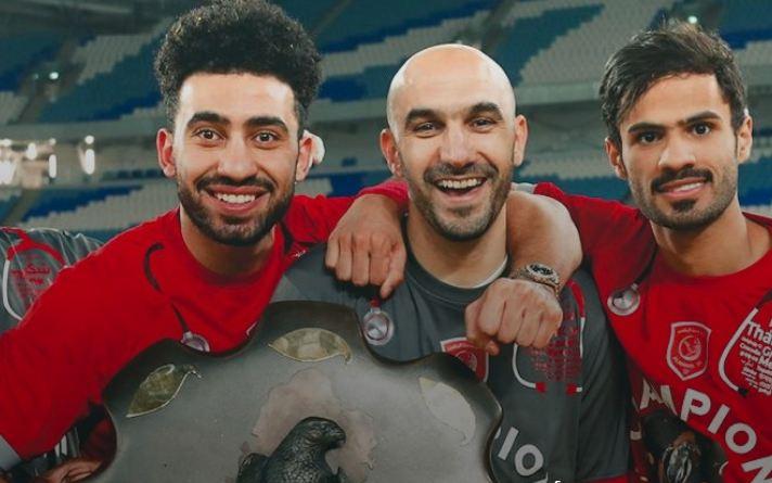 وليد الركراكي يقود فريق الدحيل للتتويج ببطولة قطر لكرة القدم