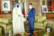 بوريطة يستقبل السفير الجديد لدولة الإمارات