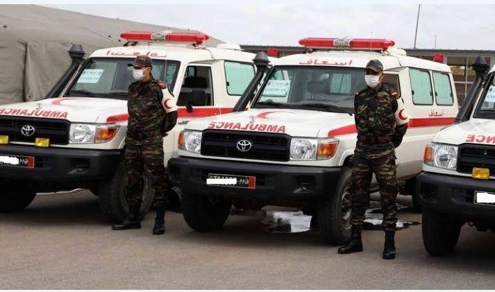 35 فريقا صحيا للتدخل السريع لمواجهة كورونا في صفوف القوات المسلحة