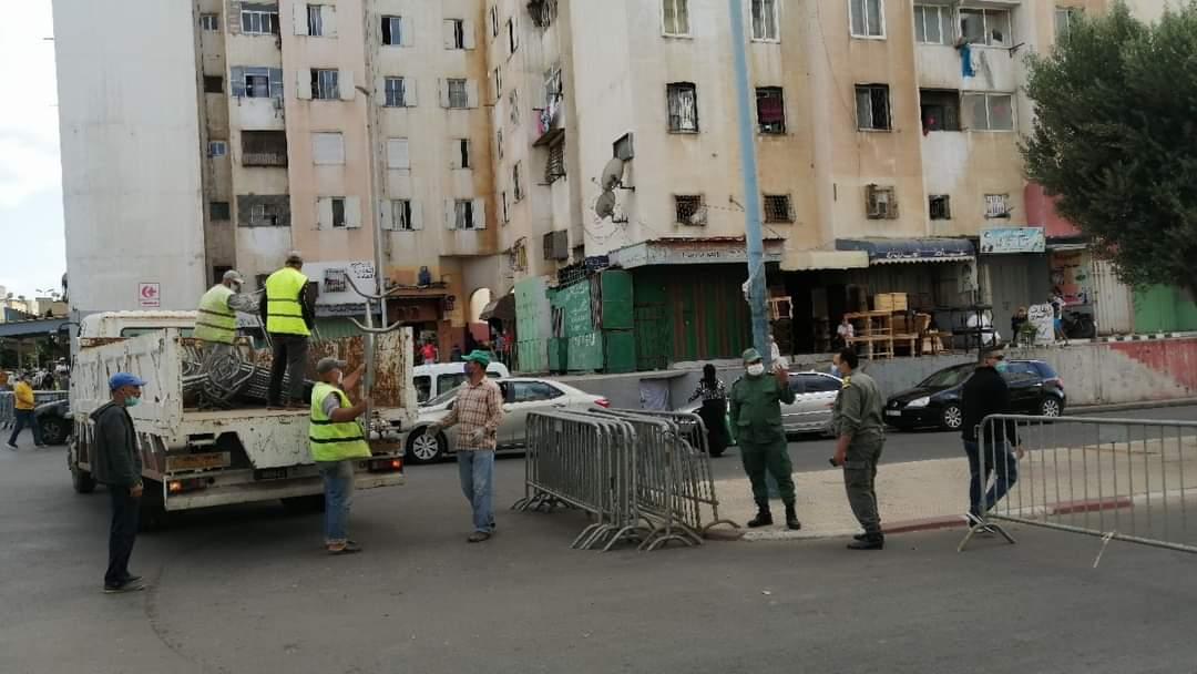إغلاق الحي المحمدي.. الخوف من كورونا يربك حركية