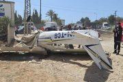 مصرع شخصين في حادث تحطم طائرة بالقنيطرة