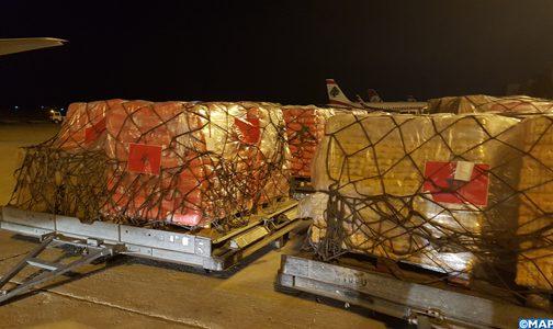 المساعدات الإنسانية والطبية المغربية المستعجلة تصل إلى لبنان