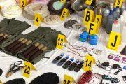 إثر تفكيك الخلية الإرهابية.. حجز أسلحة ومتفجرات في مخازن بتمارة