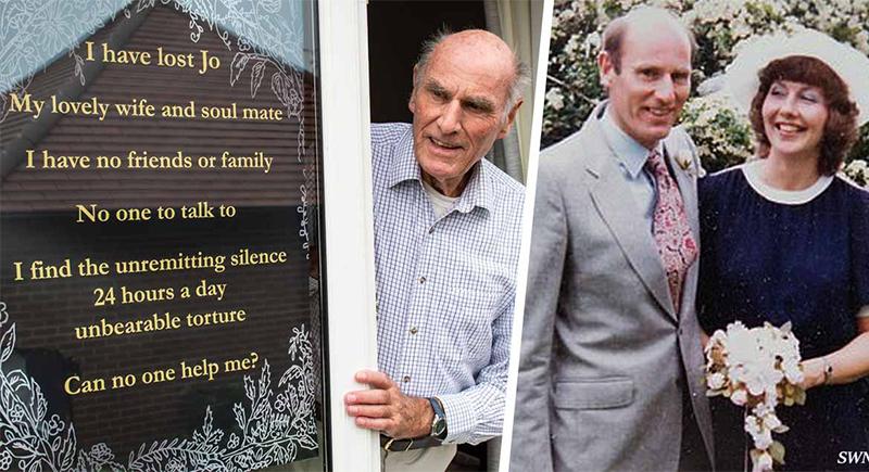 لتجنبالشعور بالوحدة.. رجل يعلق لافتة للبحث عن أصدقاء بعد وفاة زوجته