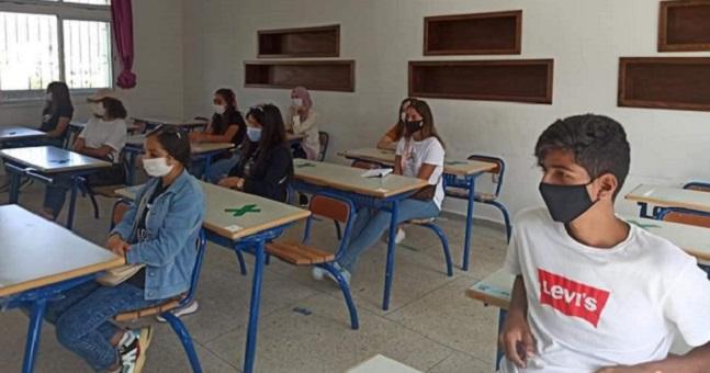 تدابير احترازية من كورونا ترافق انطلاق الامتحان الجهوي