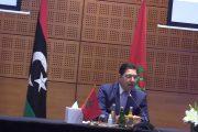 لتسوية الملف الليبي.. بوريطة يتباحث مع وزير الخارجية المصري