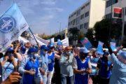 الاتحاد الجهوي لنقابات البيضاء يواصل برنامجه الاحتجاجي بوقفة حاشدة بالحي الصناعي