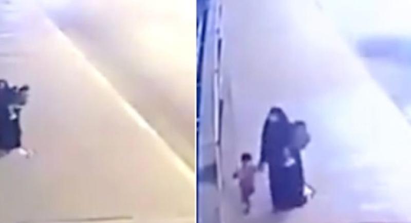 جريمة تهز العراق... فيديو لامرأة ترمي أطفالها في نهر دجلة من فوق الجسر