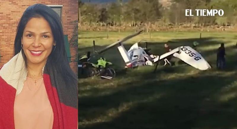 طفل ينجو بأعجوبة من حادث تحطم طائرة بعد أن احتضنته والدته