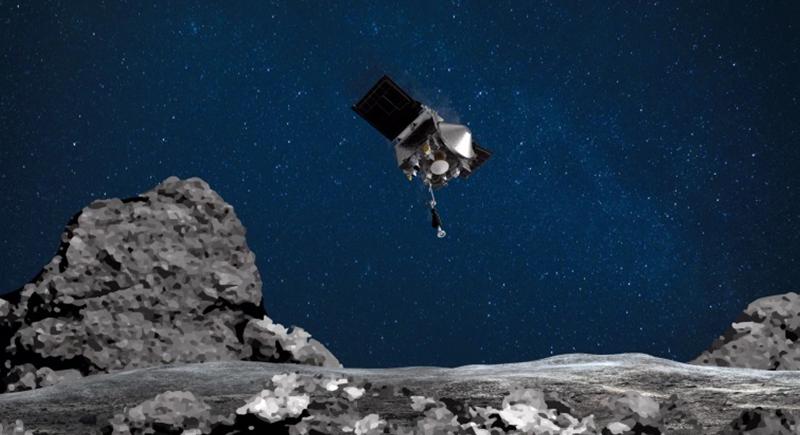 هبوط مركبة فضائية على كويكب قد يحمل اللبنات الأساسية للحياة