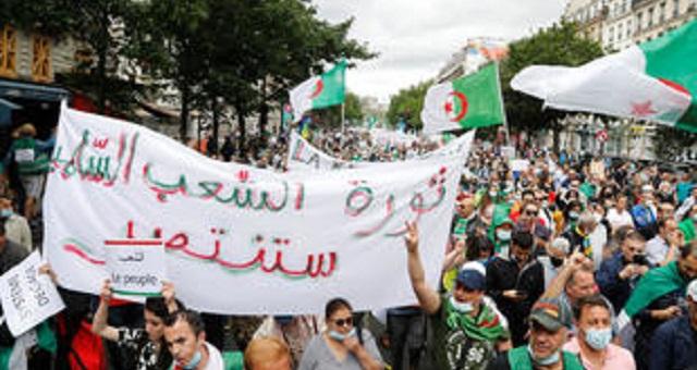 الجزائر.. النظام يفرض التصريح المسبق عن المسيرات للتضييق على الحراك