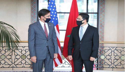المغرب وأمريكا يوقعان على خارطة طريق في مجال الدفاع