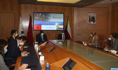 اتحاد جزر القمر يرغب في الاستفادة من دعم المغرب للنهوض بالاستثمار في القطاعات الواعدة