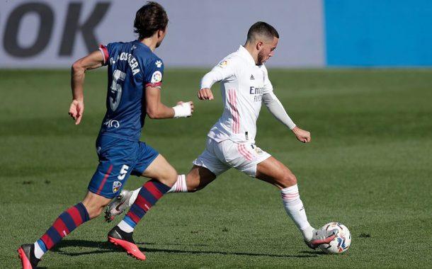 بالفيديو.. ريال مدريد يستعيد توازنه ويسحق هويسكا برباعية