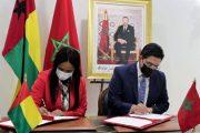 تشمل عدة مجالات.. توقيع 4 اتفاقيات تعاون بين المغرب وغينيا بيساو
