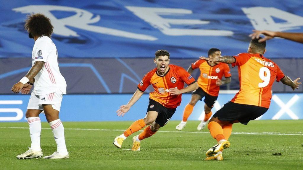 دوري الأبطال.. ريال مدريد يسقط بالثلاثة أمام شاختار الأوكراني (فيديو)