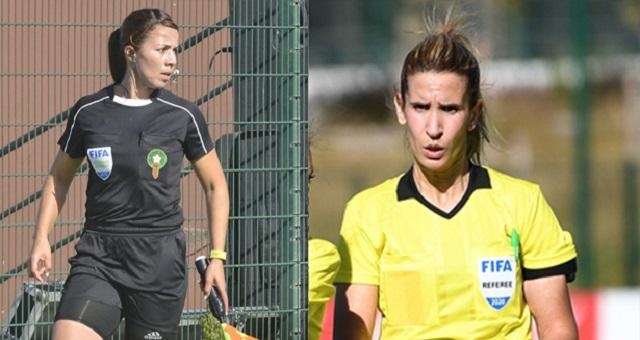 المغربيتان كربوبي والجرموني مرشحتان لقيادة كأس العالم للسيدات