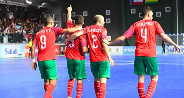 لأول مرة.. المنتخب المغربي داخل القاعة يتصدر الترتيب الإفريقي