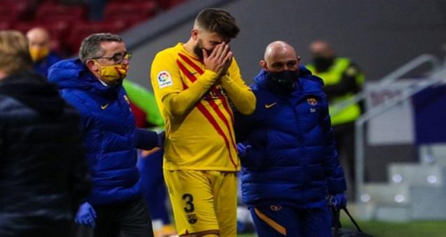 برشلونة يحدد نوعية إصابة بيكي ومدة غيابه