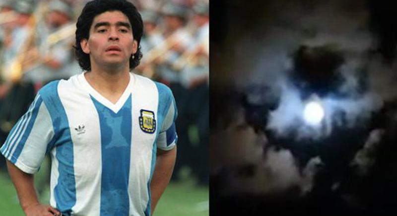 مثير للجدل حياً وميتاً: حقيقة انعكاس صورة مارادونا في سماء الأرجنتين